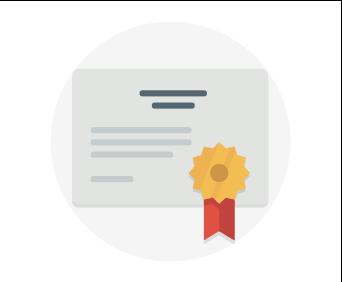 Certificate representing reliability