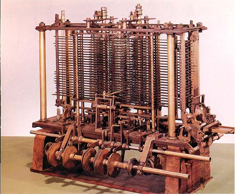 Babbage's Analytical Engine operated for the first time