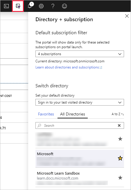 directory-and-subscription